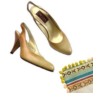 Vintage: new Petra Firenze ❤︎ Ombré Slingback Heel